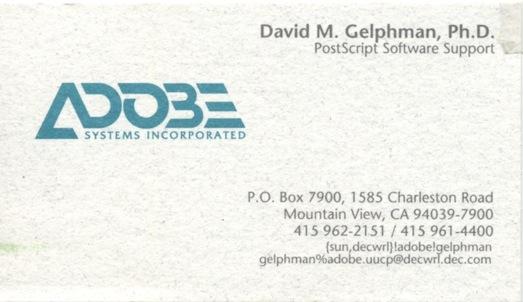 Adobe DTS Card