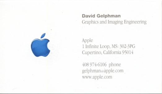 Apple G I Card