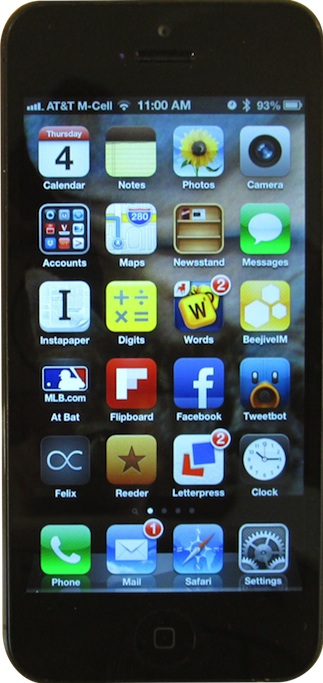 Apple iPhone 5 transparent small