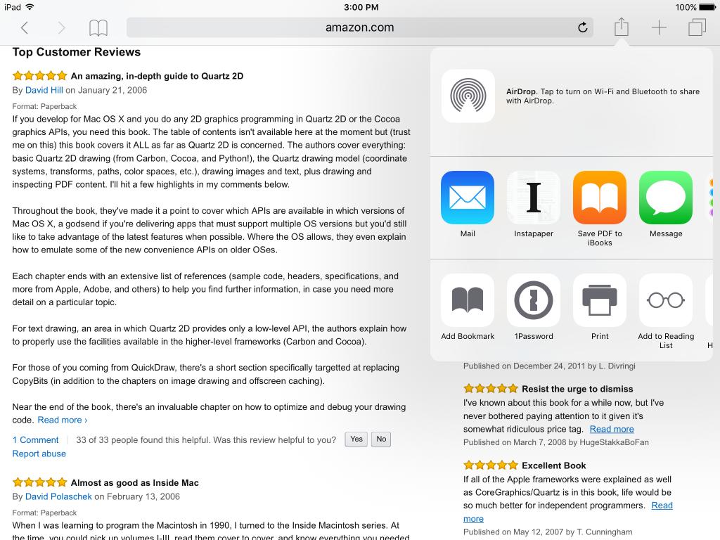 Save PDF to iBooks | David Gelphman's Blog